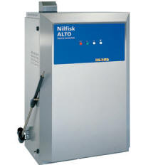 Professional Stationary Hot Pressure Washers - Nilfisk Alto - Truck Booster